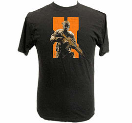 Call Of Duty Black Ops 2 Inspired Future Soldier T Shirt- Size Medium Clothing and Merchandise