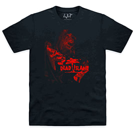 Dead Island: Red Tone Zombie T-Shirt - Size Large Clothing and Merchandise