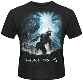 Halo 4: Saviour T-Shirt - Size Large Clothing and Merchandise