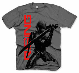 Metal Gear Rising T-Shirts - Size Large Clothing and Merchandise