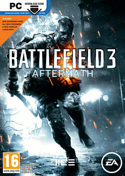 Battlefield 3: Aftermath PC Games Cover Art