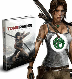 Tomb Raider Limited Edition Strategy Guide Strategy Guides and Books