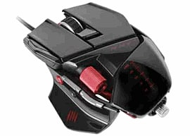 Mad Catz R.A.T.5 Mouse - Gloss Black Accessories