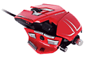 Mad Catz M.M.O.7 Mouse - Red Accessories