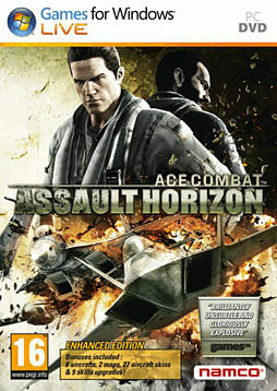 Ace Combat Assault Horizon Enhanced Edition PC Games Cover Art