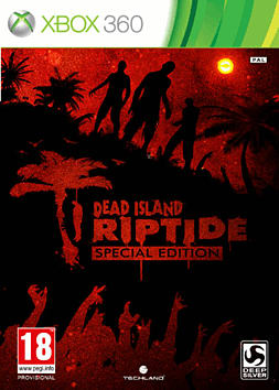 Dead Island: Riptide GAME Exclusive Special Edition Xbox 360 Cover Art
