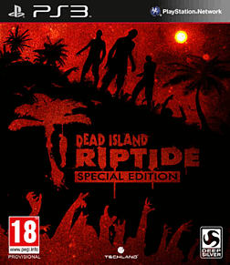 Dead Island: Riptide GAME Exclusive Special Edition PlayStation 3 Cover Art