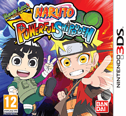 Naruto Powerful Shippuden 3DS Cover Art