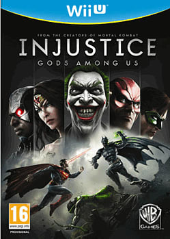 Injustice: Gods Among Us Wii U Cover Art