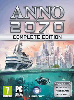 Anno 2070 Complete Edition PC Games Cover Art