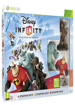 Disney INFINITY Starter Pack Xbox-360 Cover Art