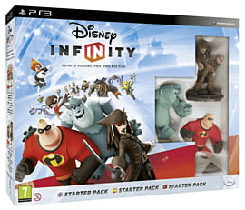 Disney INFINITY Starter Pack PlayStation-3 Cover Art