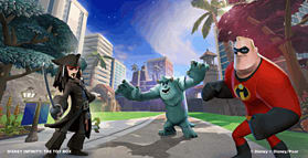 Disney INFINITY Starter Pack screen shot 14