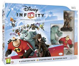 Disney INFINITY Starter Pack Nintendo-Wii Cover Art