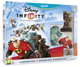 Disney INFINITY Starter Pack Wii U Cover Art