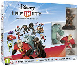 Disney INFINITY Starter Pack Nintendo-3DS Cover Art
