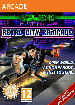 Retro City Rampage Xbox Live Cover Art
