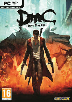DmC: Devil May Cry PC Games Cover Art