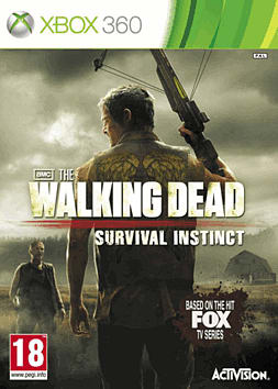 The Walking Dead: Survival Instinct Xbox 360 Cover Art