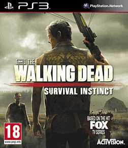The Walking Dead: Survival Instinct PlayStation 3 Cover Art