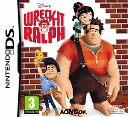 Wreck-It Ralph DSi and DS Lite Cover Art