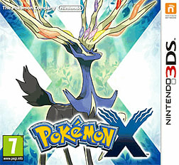 Pokemon X 3DS Cover Art