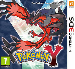 Pokémon Y 3DS Cover Art