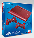 PlayStation 3 500GB Slim - Red - GAME Exclusive PlayStation 3