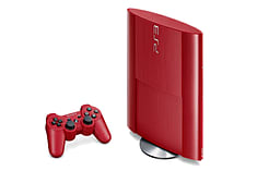 PlayStation 3 500GB Slim - Red - GAME Exclusive screen shot 2