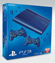 PlayStation 3 500GB Slim - Blue PlayStation 3