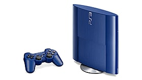 PlayStation 3 500GB Slim - Blue screen shot 1