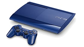 PlayStation 3 500GB Slim - Blue screen shot 2