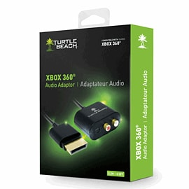 Turtle Beach Ear Force Xbox 360 Audio Adapter Cable Accessories