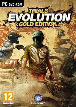 Trials Evolution Gold Edition PC Games Cover Art