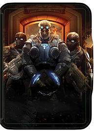 Gears of War: Judgment GAME Exclusive Steelbook Edition with Original Gears of War Download Code Xbox-360 Cover Art