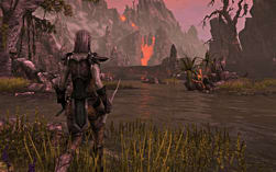 The Elder Scrolls Online with 'Cyrodiil at War' map - Only at GAME screen shot 1