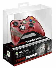 Xbox 360 GAME Exclusive Limited Edition Tomb Raider Controller Accessories 