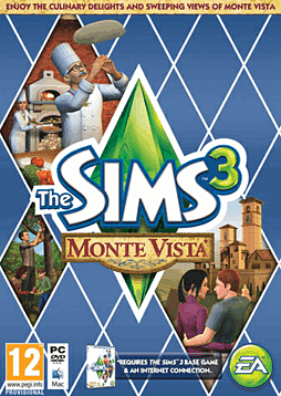 The Sims 3: Monte Vista PC Games Cover Art