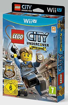 LEGO City: Undercover with Chase McCain Minifigure Wii U Cover Art