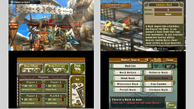 Nintendo 3DS XL Black with Monster Hunter 3 Ultimate screen shot 3