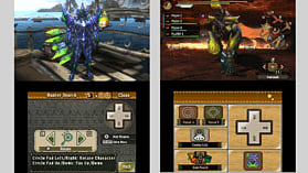 Nintendo 3DS XL Black with Monster Hunter 3 Ultimate screen shot 7