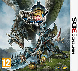 Monster Hunter 3 Ultimate 3DS Cover Art