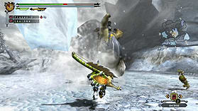 Monster Hunter 3 Ultimate screen shot 2