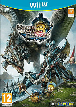 Monster Hunter 3 Ultimate Wii U Cover Art