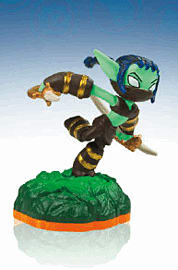 Stealth Elf - Skylanders Giants Character Toys and Gadgets