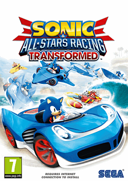 Sonic and SEGA All-Stars Racing Transformed - Four-Pack PC Games Cover Art