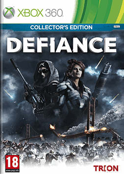 Defiance GAME Exclusive Collector's Edition Xbox 360 Cover Art