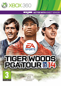 Tiger Woods PGA Tour 14 Xbox 360 Cover Art
