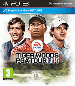 Tiger Woods PGA Tour 14 PlayStation 3 Cover Art