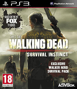 The Walking Dead: Survival Instinct - GAME Exclusive Walker Herd Survival Pack PlayStation 3 Cover Art